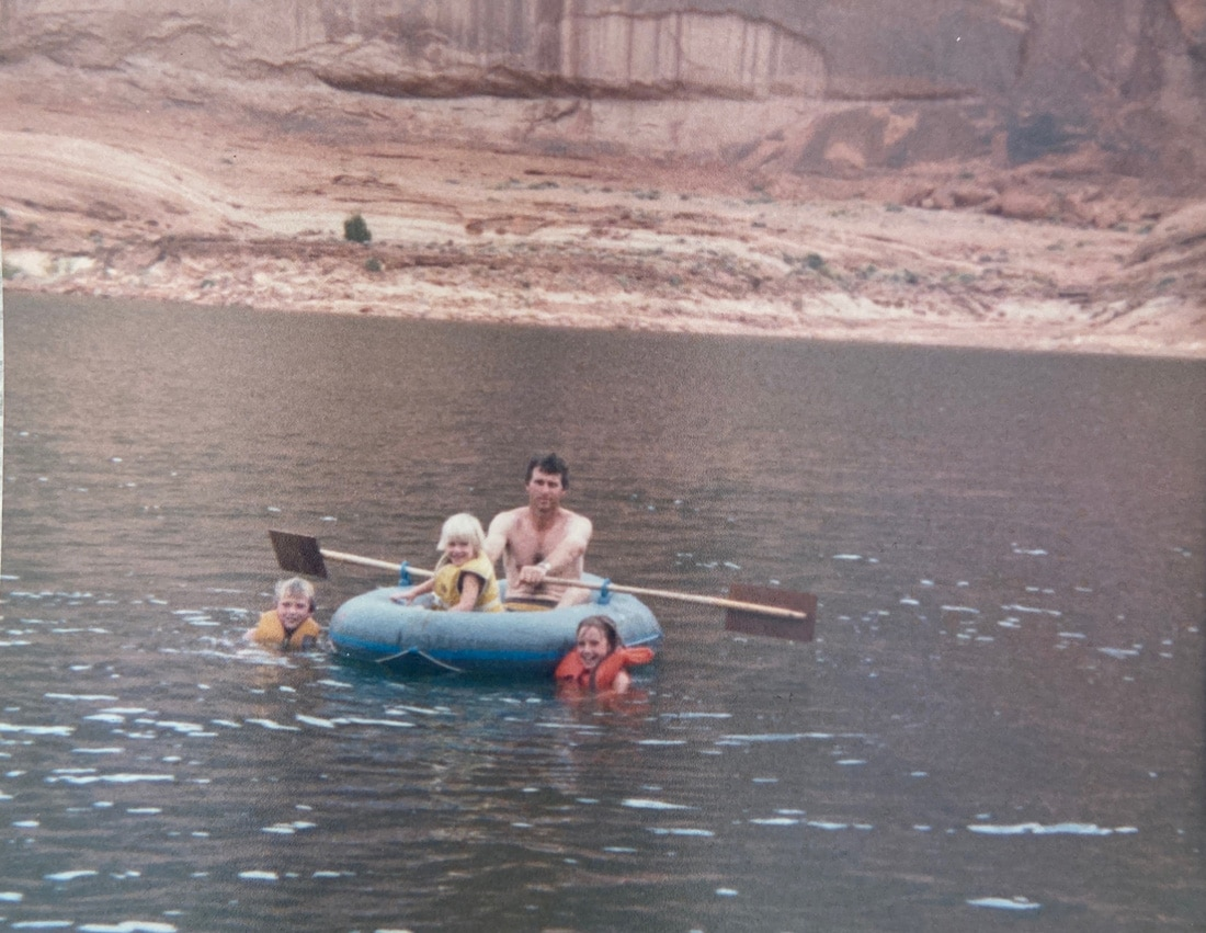 Four years old at Lake Powell